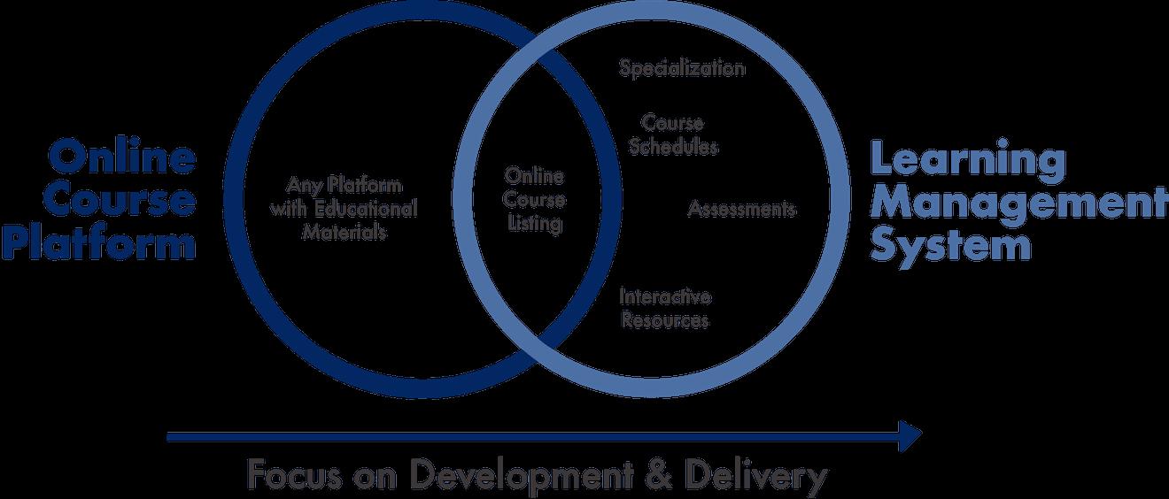 Online Course Platforms vs. LMS