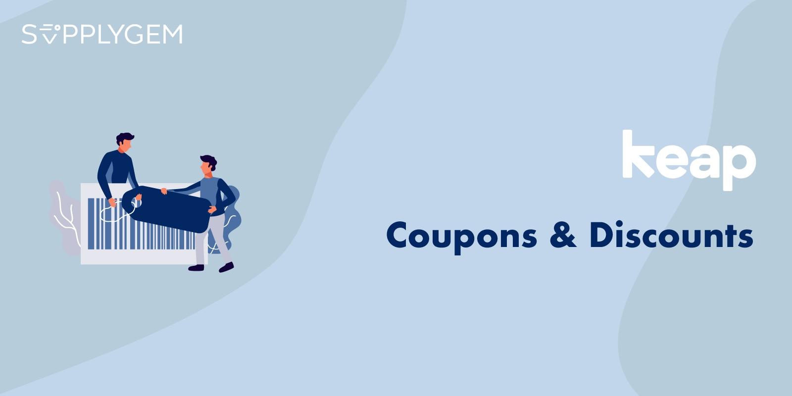 Keap Coupons Discounts