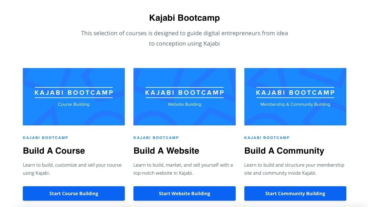 Kajabi University Courses